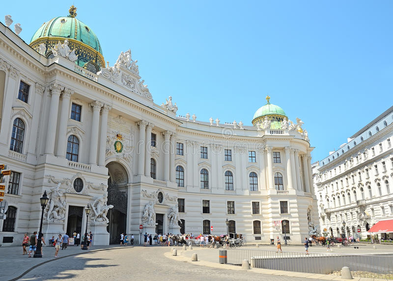Hofburg Palace, Vienna, Austria Editorial Photography