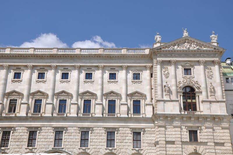 Hofburg Palast in Wien stockbild