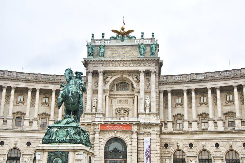Hofburg Palast in Wien stockbilder