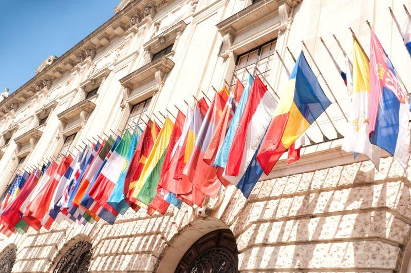 Hofburg Palast in Wien stockfotos