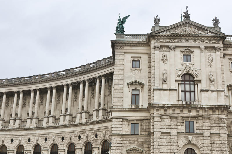 Hofburg Palast in Wien lizenzfreie stockfotos