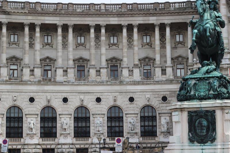 Hofburg-Palast Wien historisches Buliding lizenzfreies stockfoto