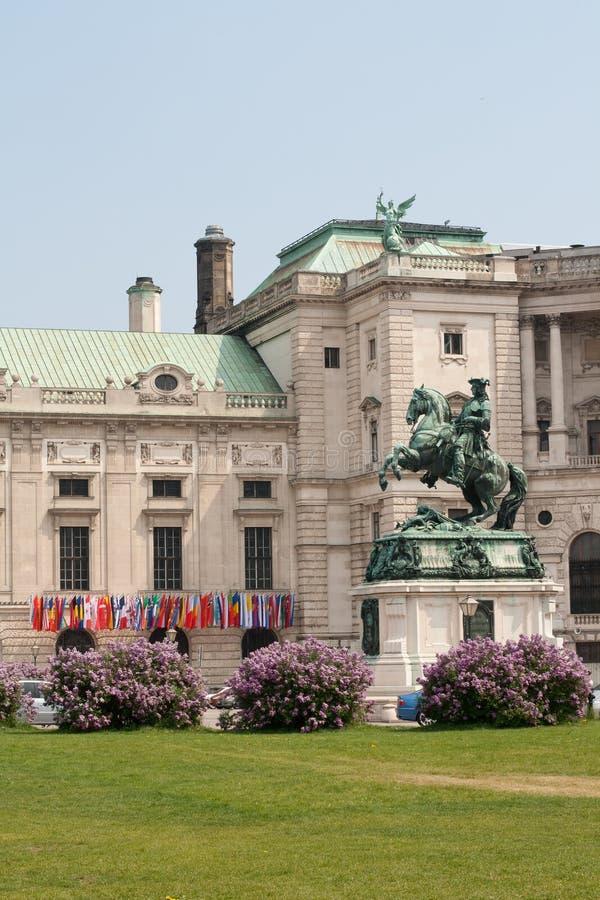 Hofburg Schloss. Wien. Österreich lizenzfreie stockfotografie