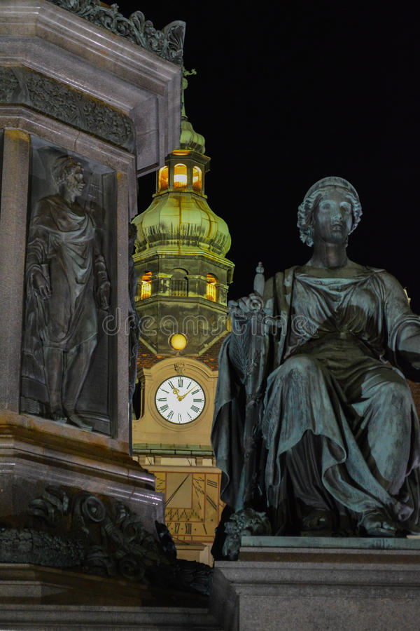 Hofburg Viena Austria foto de archivo