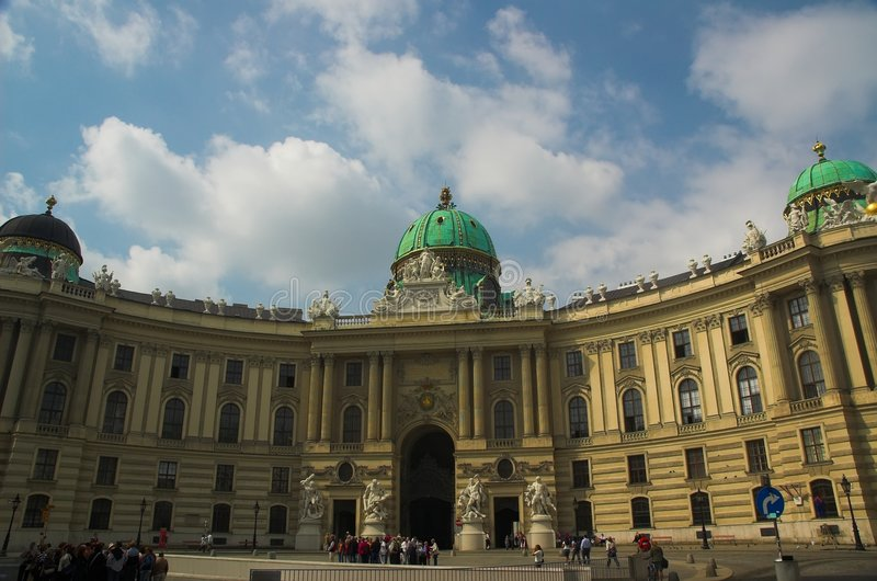 Hofburg, Vienna royalty free stock image