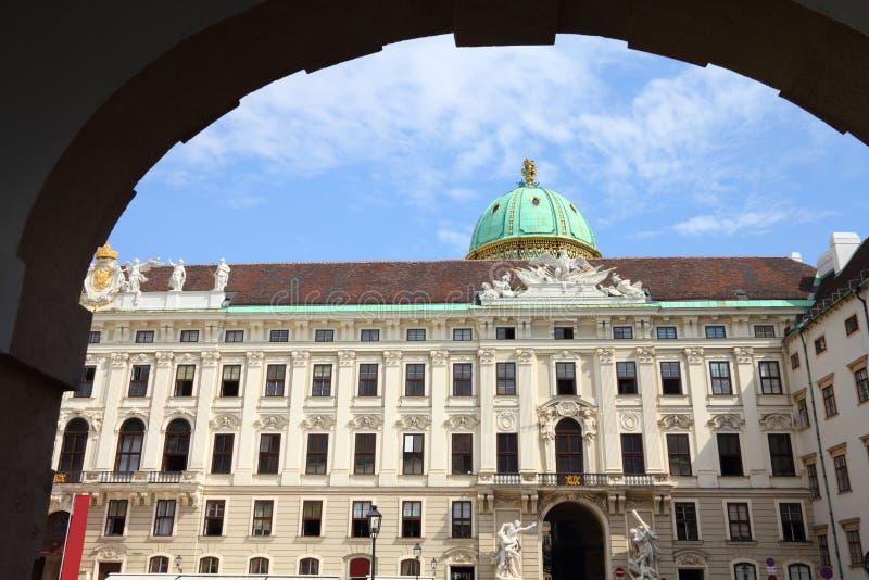 hofburg vienna fotografering för bildbyråer