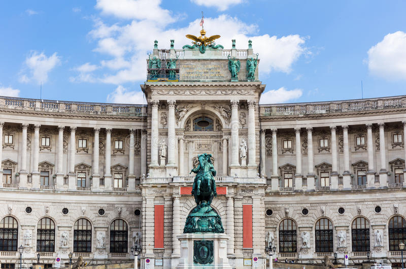 The Hofburg in Vienna royalty free stock photography