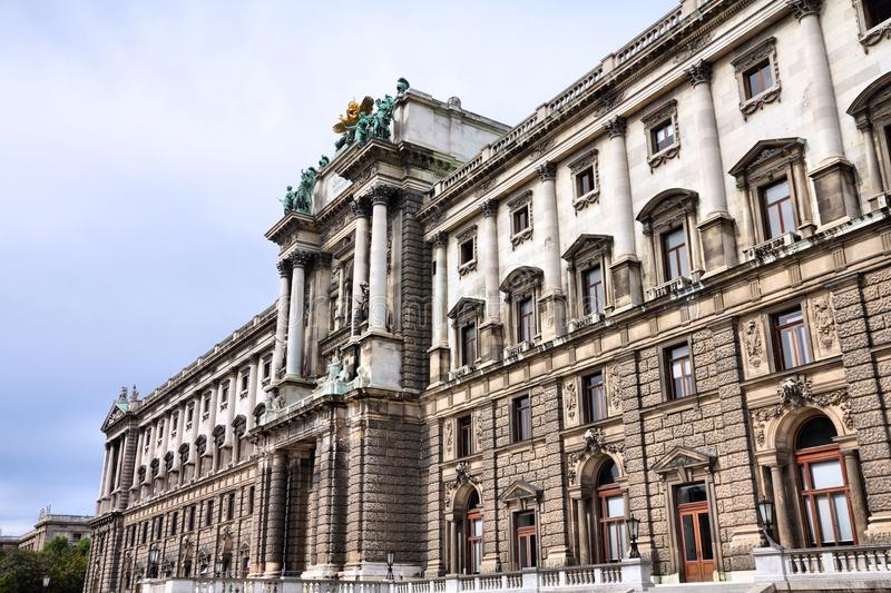 Hofburg in Vienna royalty free stock photo