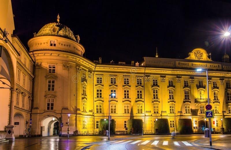 Hofburg w Innsbruck (Cesarski pałac) obraz stock