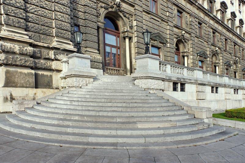 Hofburgpaleis - de sectie van Neue Burg royalty-vrije stock afbeelding