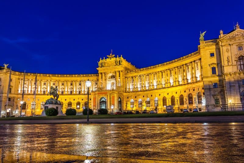 Hofburgpaleis, de Vleugel van Neue Burg, Wenen Oostenrijk royalty-vrije stock foto