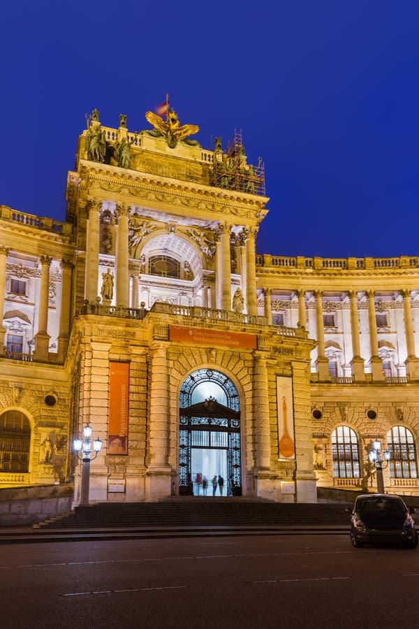 Hofburgpaleis in Wenen Oostenrijk royalty-vrije stock foto's