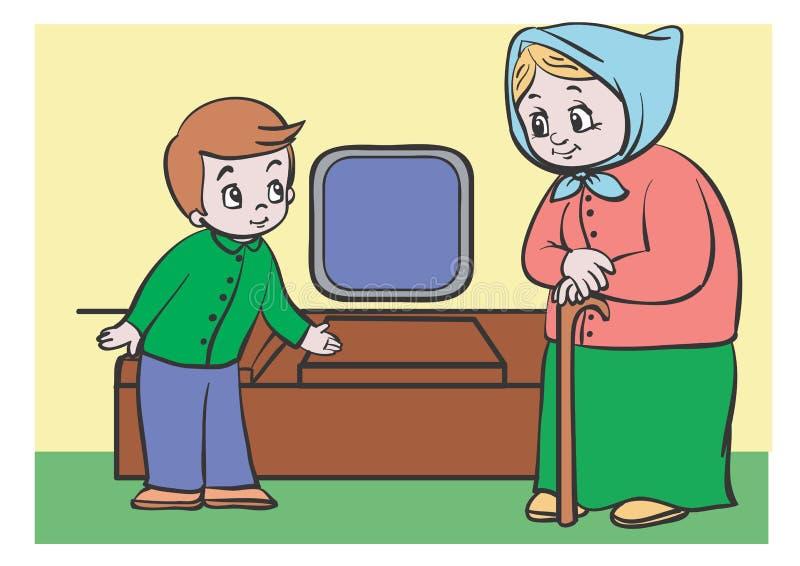 Hoffelijkheid vector illustratie