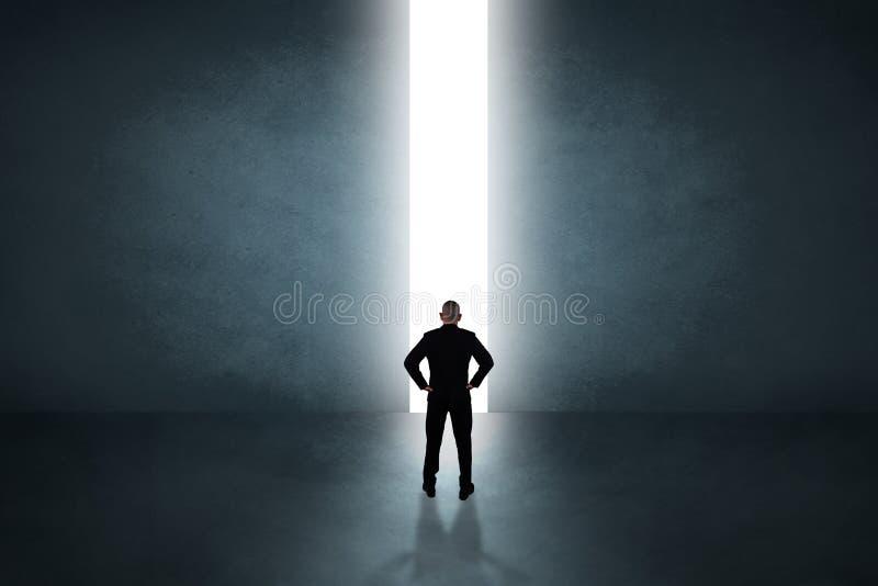 Hoffnungs-Vision im Geschäfts-Konzept stockfotografie