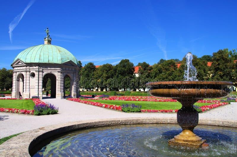 Hofgarten Munich fotografia de stock royalty free