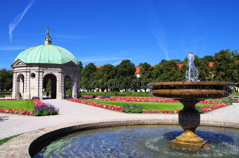 Hofgarten Munich photographie stock libre de droits