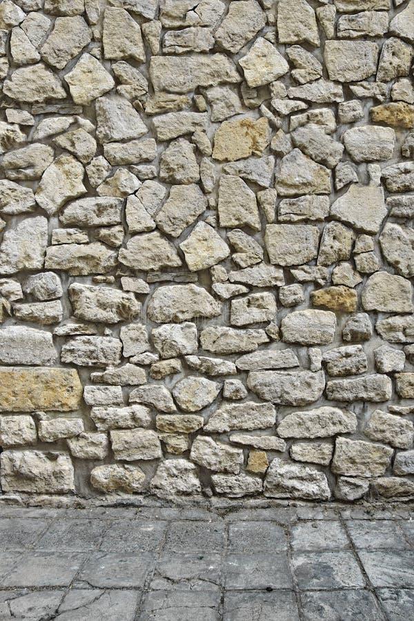 Hogar 3d exterior con la pared de piedra y el piso foto de - Pared de piedra interior ...