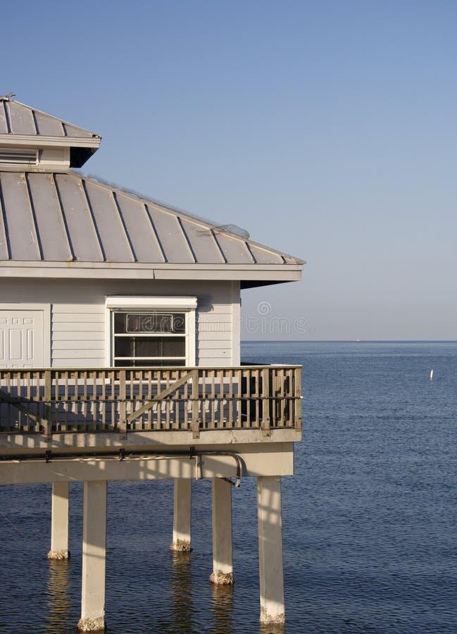 Hogar de la costa imagen de archivo