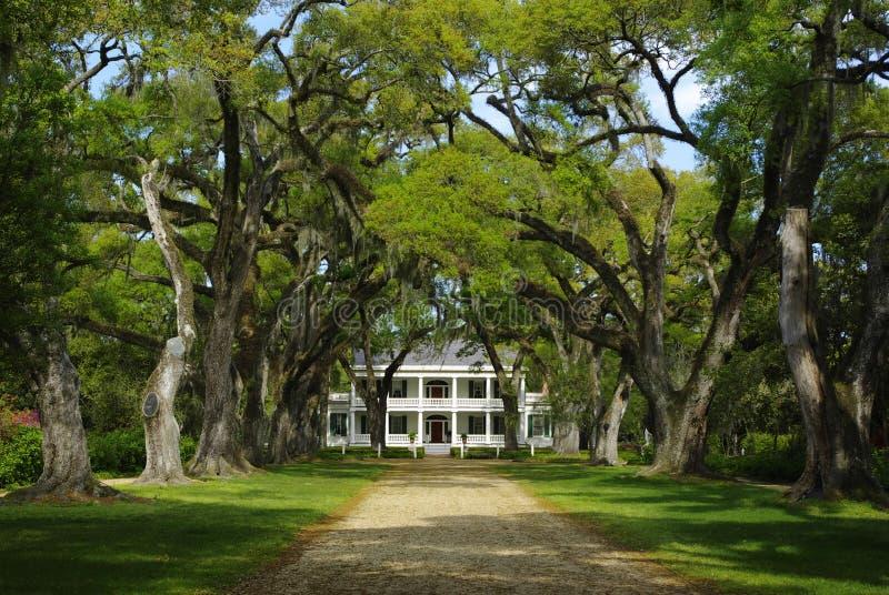 Hogar de la plantación de Rosedown imagen de archivo libre de regalías