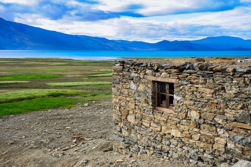 Hogar de Ladakhi imagenes de archivo