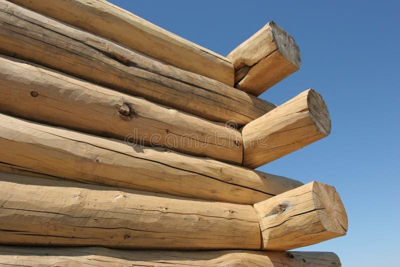 Download Hogar Del Registro Bajo Construcción Imagen de archivo - Imagen de material, árboles: 179337
