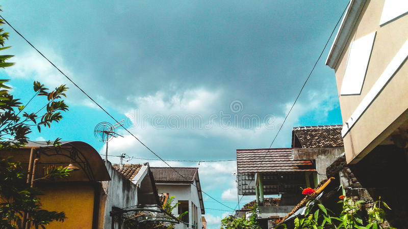 Hogar en Yogyakarta foto de archivo