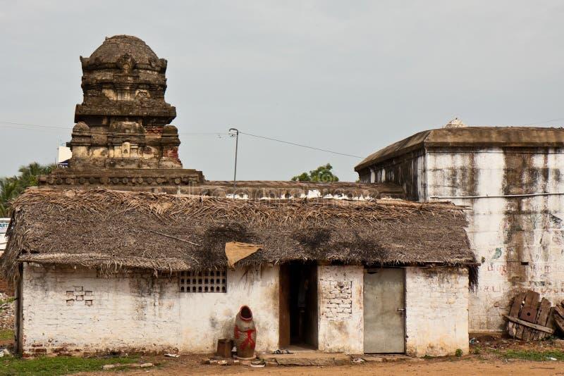 Hogar pobre en la India foto de archivo libre de regalías