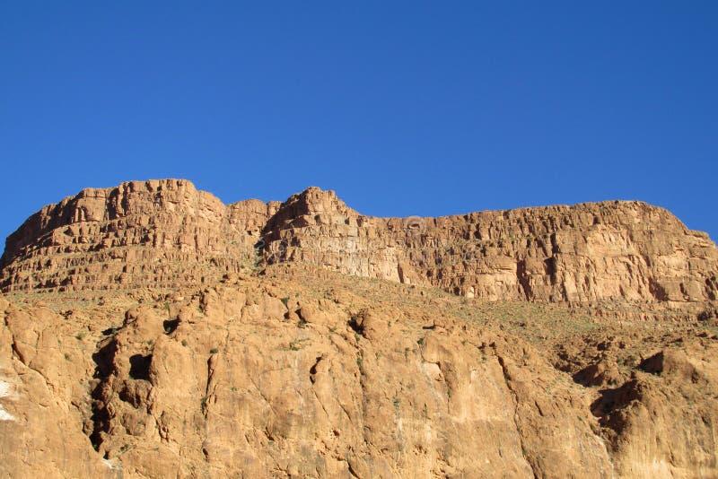 Hoge Atlasbergen, Marokko royalty-vrije stock afbeeldingen
