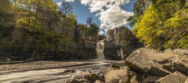 Hoge Krachtwaterval ten noordoosten van Engeland royalty-vrije stock afbeeldingen