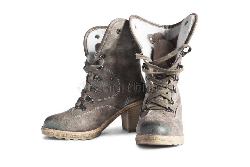 Hoge laarzen royalty-vrije stock foto