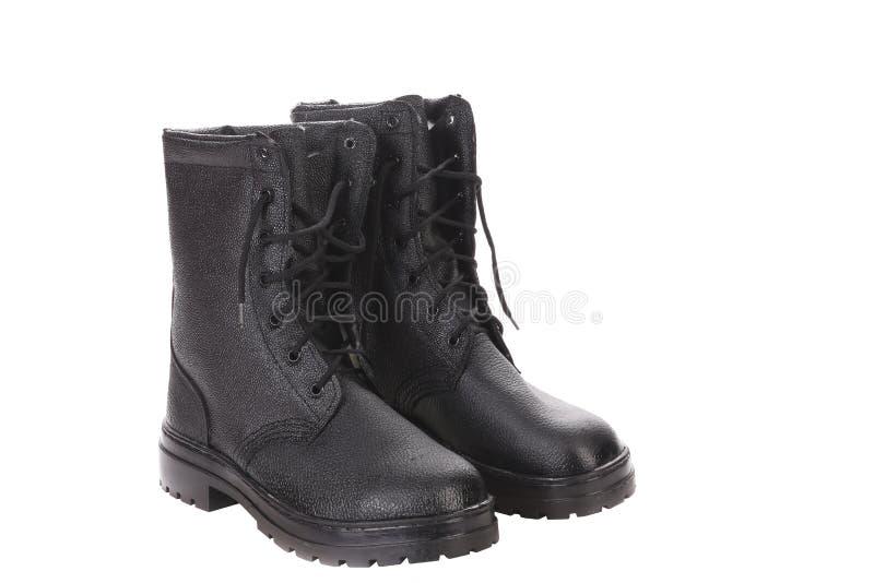 Hoge man laarzen. royalty-vrije stock afbeelding
