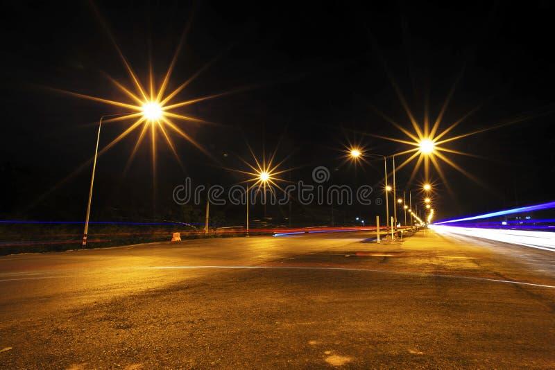 Hoge manier bij nacht royalty-vrije stock foto