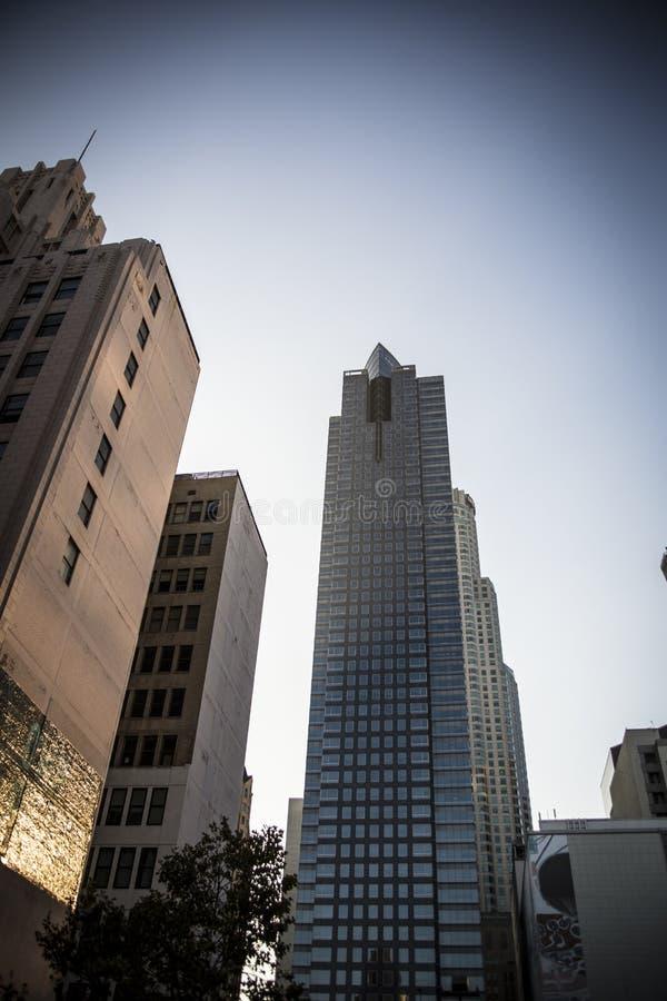 Hoge StijgingsFlatgebouwen in Los Angeles royalty-vrije stock fotografie