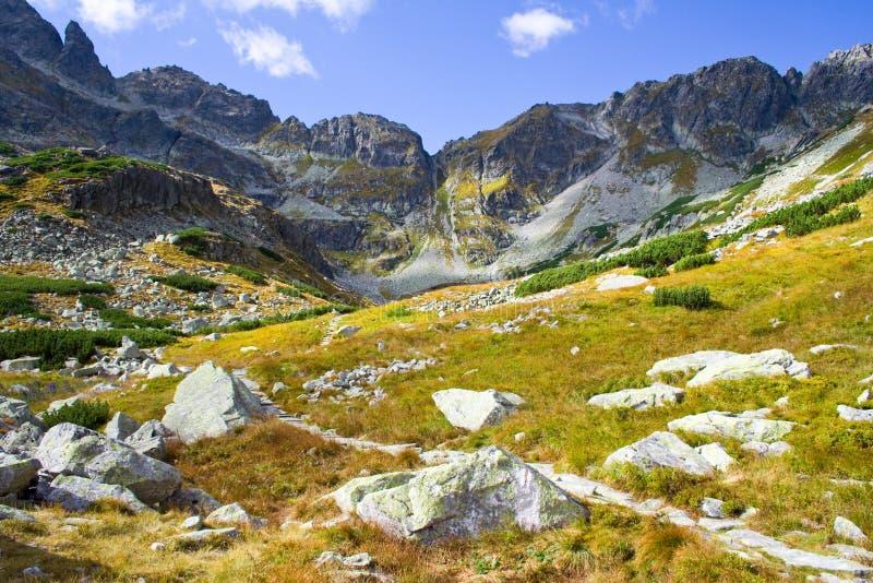 Hoge Tatra-Bergen, Polen stock foto's