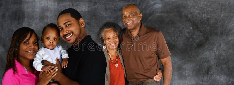 Hoger Echtpaar met Familie stock fotografie