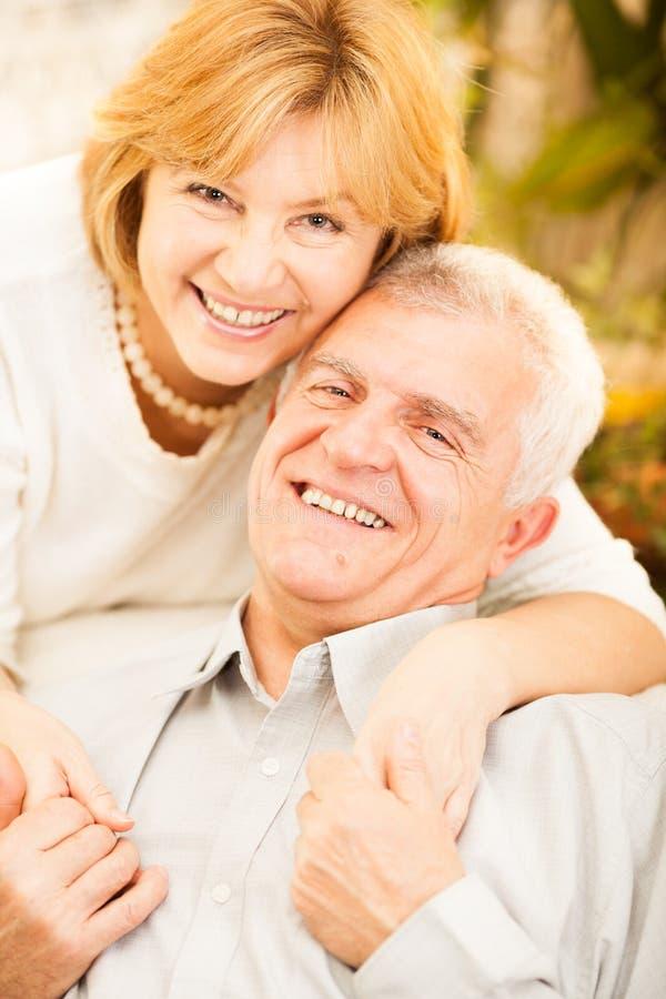 Hoger paar in liefde royalty-vrije stock foto's