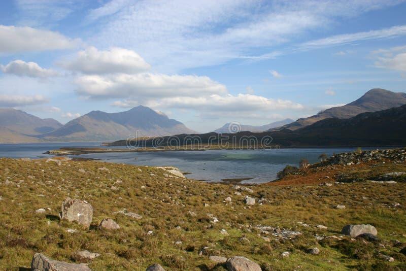 Hogere Loch Torridon royalty-vrije stock foto