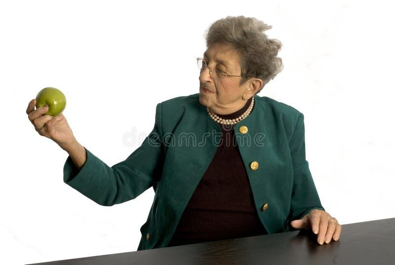 Hogere vrouw royalty-vrije stock foto