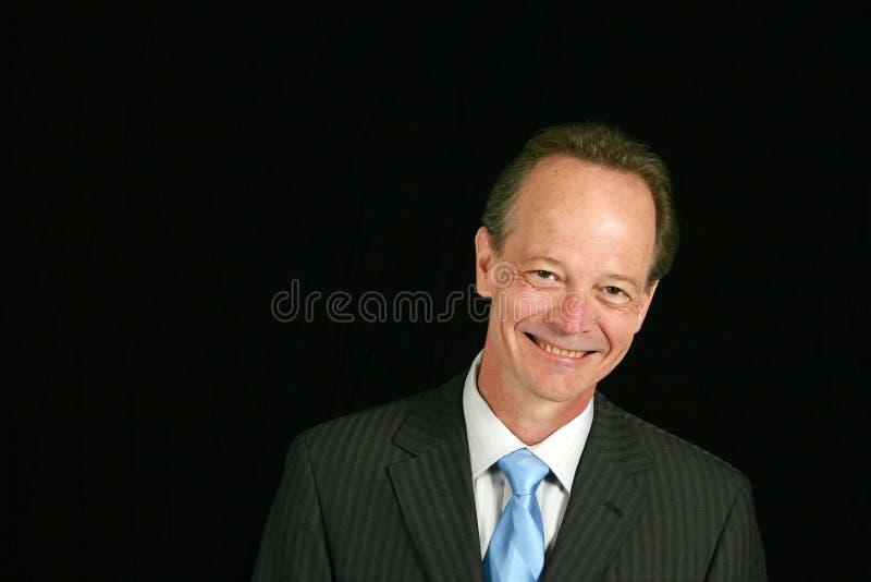 Hogere zakenman royalty-vrije stock foto's