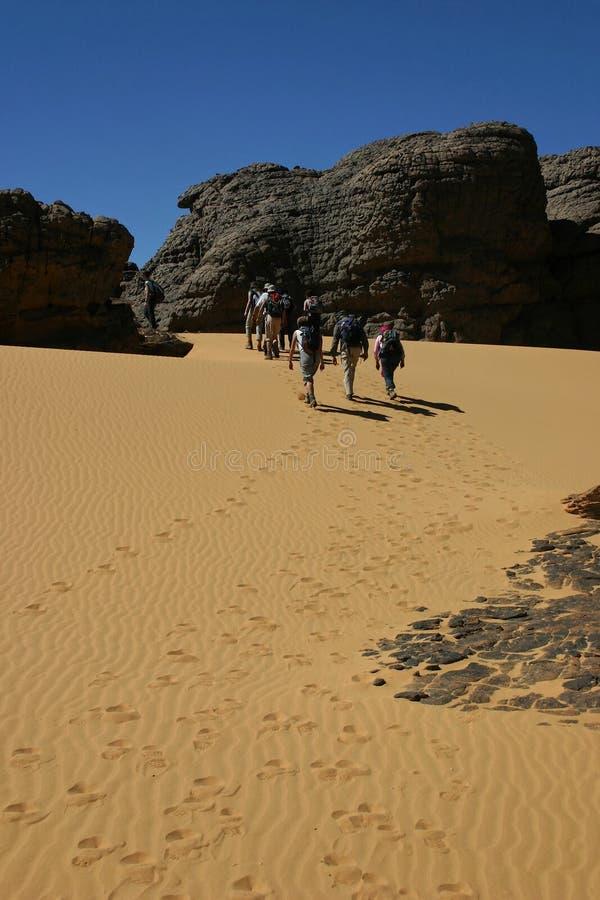 Download Hoggar Tassili stock photo. Image of trekking, walkers - 12476778