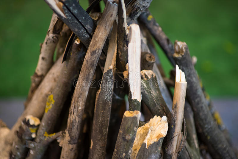 Hoguera sin fondo de la naturaleza del fuego imágenes de archivo libres de regalías