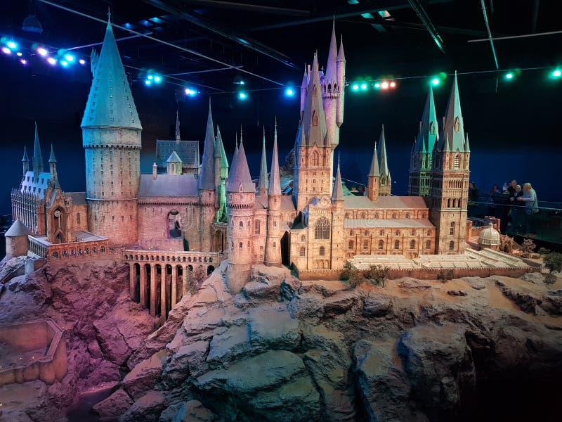 hogwarts стоковые изображения