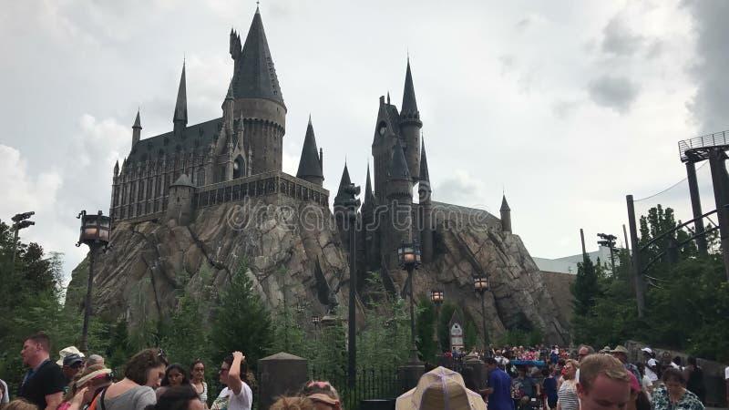 hogwarts foto de archivo
