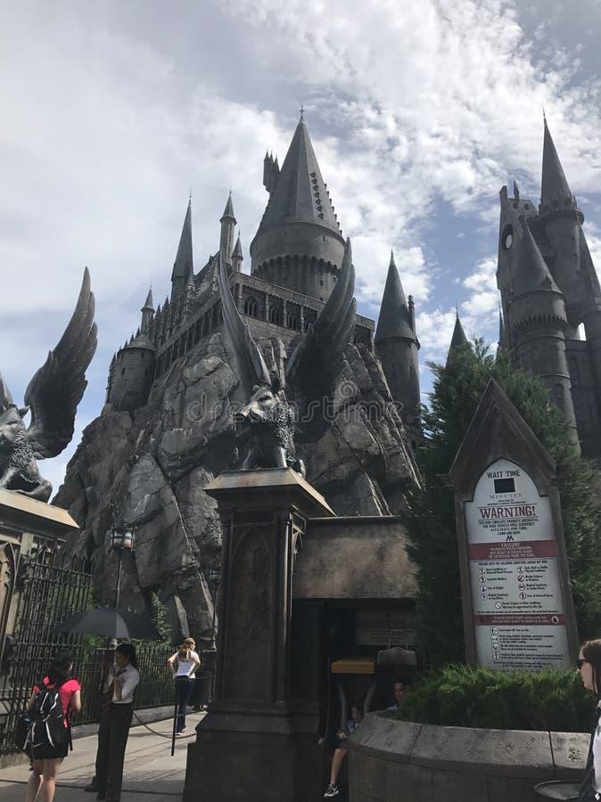 hogwarts obraz royalty free