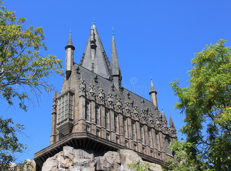 Hogwarts fotos de stock