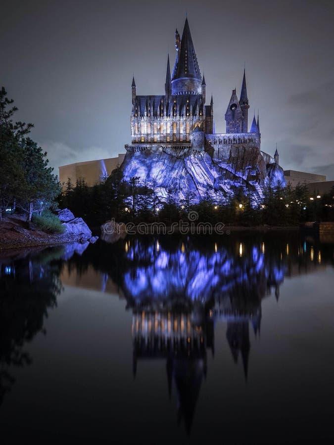 hogwarts 免版税库存照片