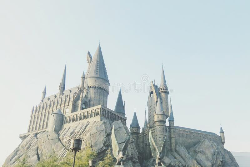 hogwarts fotografia royalty free