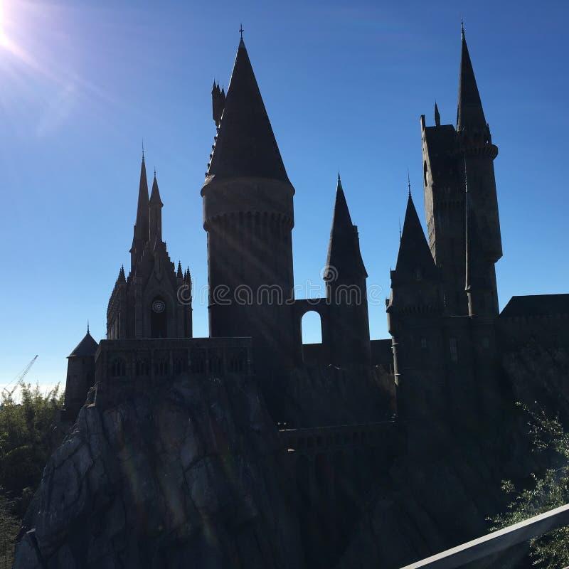 hogwarts royalty-vrije stock foto's