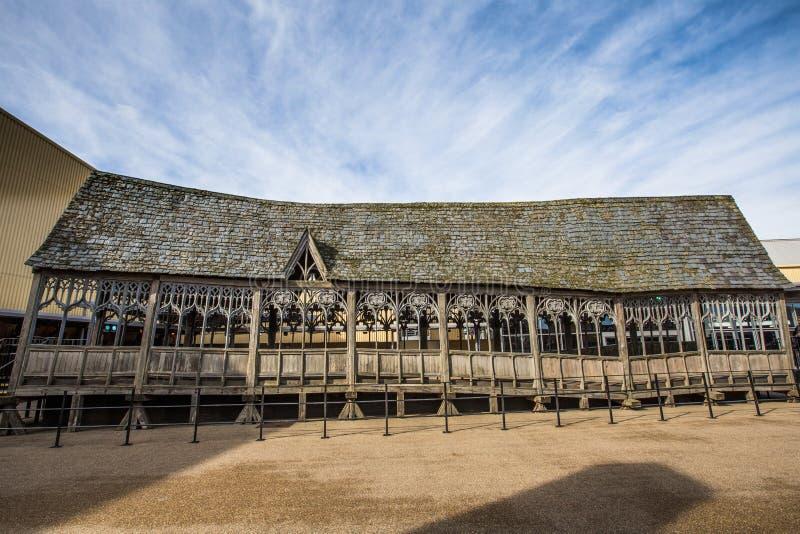 Hogwarts bro från den Harry Potter filmen arkivfoto
