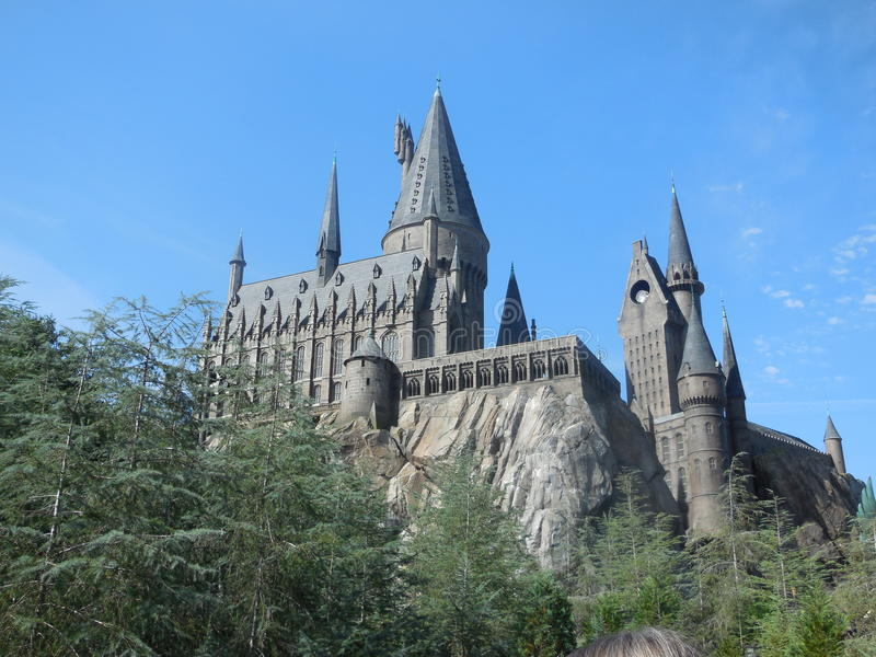 Hogwarts Castle stock images